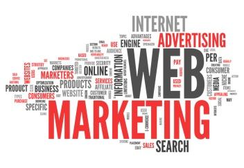 "Word Cloud ""Web Marketing"""