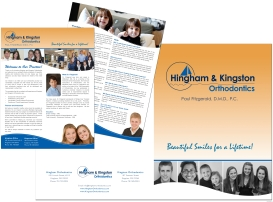 Folder and Insert for Orthodontic Practice