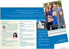 Multi-Specialty Dental Practice Brochure
