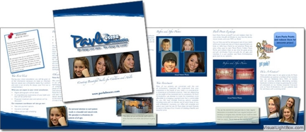 Orthodontic Practice 8x8 Brochure