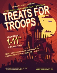 Candy Buyback Program Flyer