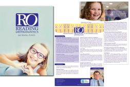 Orthodontic Practice Folder and Insert