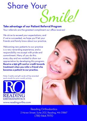 Patient Referral Program Postcard
