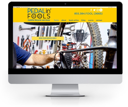Pedalin' Fools Mobile Bike Service - View this website at http://www.pedalinfools.com