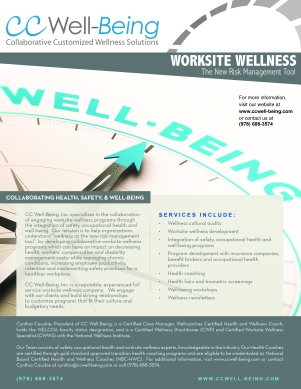 Health & Wellness Flyer